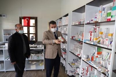 Karaköprü'de ilaç toplama merkezi açıldı