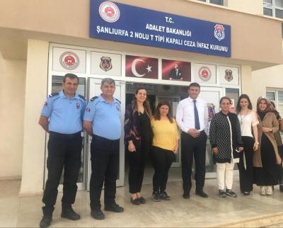 Karaköprü'de Kadın Mahkumlara Sağlık Eğitimi Verildi