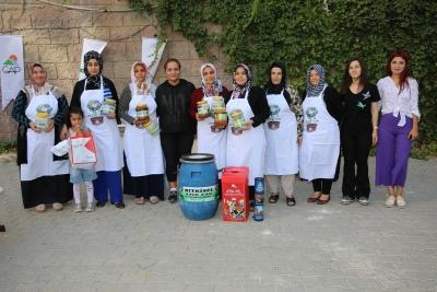 Karaköprü'de Kadınlara Geri Dönüşüm Anlatıldı
