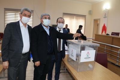 Karaköprü'de yeni meclis başkanvekili seçildi