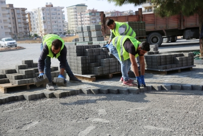 Karaköprü'de Yol Çalışmaları Aralıksız Sürüyor