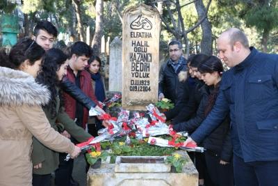 KAZANCI BEDİH MEZARI BAŞINDA ANILDI