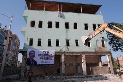 Kızılay meydan projesinde son engel yıkıldı