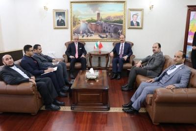Kuveytli Büyükelçi Şanlıurfa'da