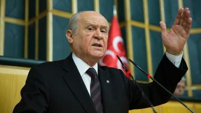 MHP Genel Başkanı Bahçeli: Tam Bir Çatırdama ve Çürüme Hali