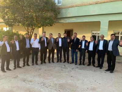 milletvekili Özcan'dan Akçakale ve Eyyübiye adaylarına destek