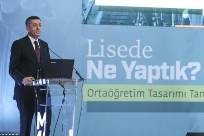 Milli Eğitim Bakanı Ziya Selçuk, yeni eğitim modelini anlattı.