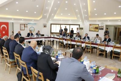 Milli Eğitim Müdürleri Bozova'da Toplandı