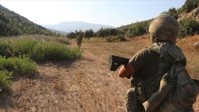 MSB: ″Zeytin Dalı bölgesinde 3 PKK/YPG'li terörist, hain emellerini gerçekleştiremeden gözaltına alındı.″