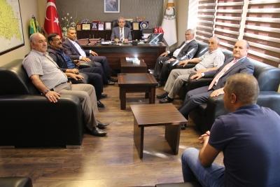 Muhtarlardan Başkan Demirkol'a Teşekkür Ziyareti