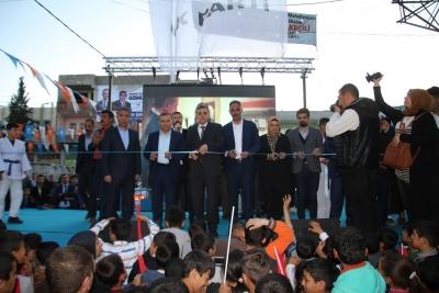 Necmeddin Sağlam'dan Seçim Bürosu Açılışı