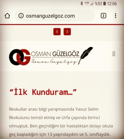 Osman Güzelgöz yeni yazısı ile herkesi ağlattı