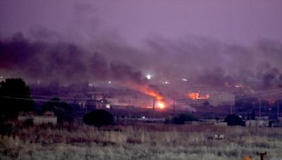 Rasulayn'daki PKK/YPG hedefleri yoğun ateş altına alındı.