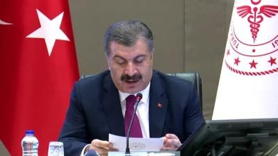 Sağlık Bakanı Fahrettin Koca, ″e-Devlet üzerinden 3,5 milyon maske dağıtıldı″