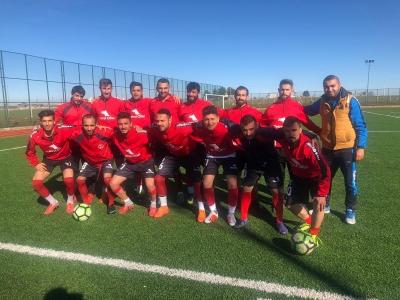 Şampiyon Karaköprü Spor Haliliye Belediyesi 1.Amatör küme A grubu.