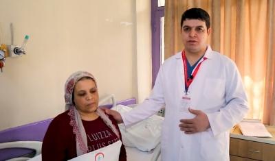 Şanlıurfa Balıklıgöl Devlet Hastanesinde Skolyoz Ameliyatı Yapıldı.