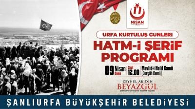 Şanlıurfa'da 11 Nisan Kurtuluş etkinlikleri