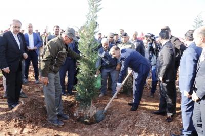 Şanlıurfa'da 450 Bin Fidan Toprakla Buluşacak