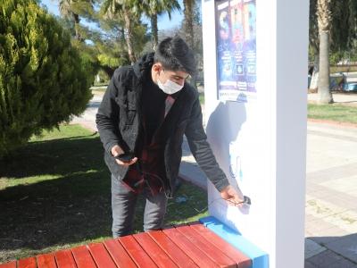Şanlıurfa'da ″Şarj eden akıllı bank″ uygulaması hizmete girdi