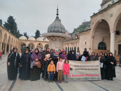Şanlıurfalı Kudüs Anneleri 52. kez eylem yaptı