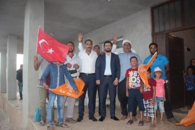Sedat Ertürk'ten Kırsal Mahallelere Ziyaret