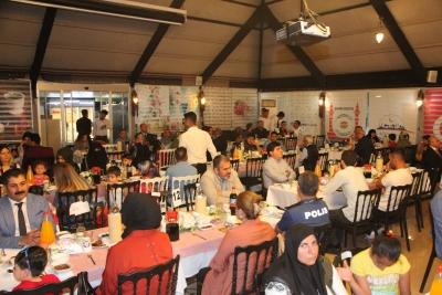 Şehit ve Gazi Aileleri İftar Programında Buluştu
