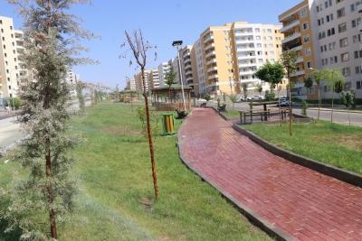 SEYRANTEPE'YE 10 BİN METRAKERELİK MODERN PARK KAZANDIRILDI
