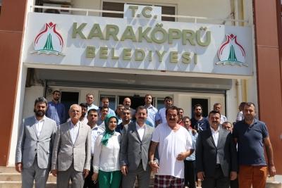 TATLISES'TEN BAŞKAN BAYDİLLİ'YE ZİYARET