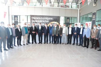"""""""TEKNOLOJİ FİDANI ŞANLIURFA'DA YEŞERİYOR"""""""