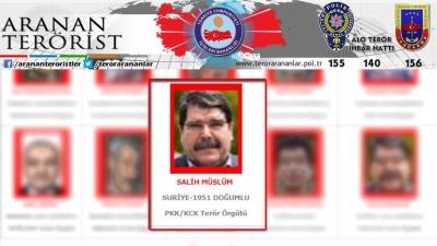 Terör örgütü PYD/PKK'nın eski eş başkanı Salih Müslüm Prag'da yakalandı