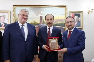 Ukrayna Ankara Büyükelçisi Şanlıurfa'da