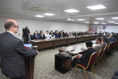Uluslararası Kışlık Buğday Geliştirme Programı Değerlendirme Toplantısı Şanlıurfa'da Yapıldı