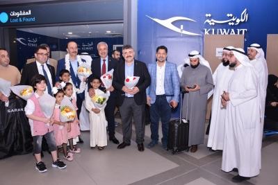 Vali Erin Ve Beraberindeki Heyet Kuveyt'te