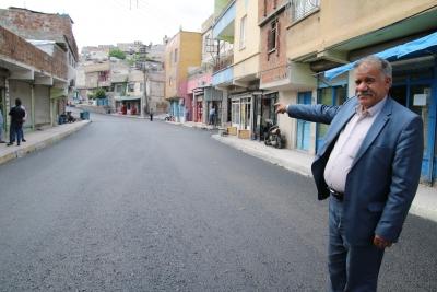 Yakup Kalfa Caddesi Yenilendi