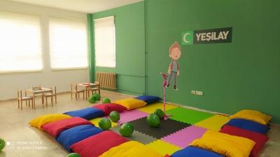 Yeşilay Şanlıurfa şubesinden Yeşil Oda Açılışı