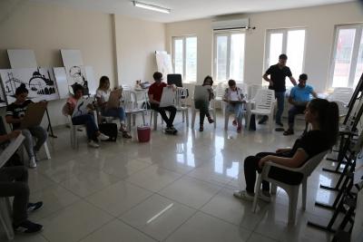 Yetenek Sınavlarına Haliliye Belediyesi ile Hazırlanıyorlar