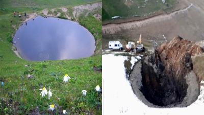 Yok edilen Dipsiz Göl'e tankerle su takviyesi gündemde!