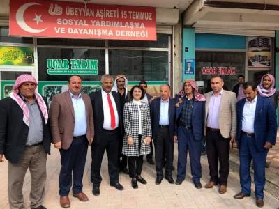Z. Gülender Açanal'dan Viranşehir adayı Salih Ekinci'ye destek