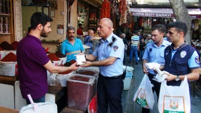 Zabıta Turizm Şehri Şanlıurfa'da Denetimlerini Sürdürüyor