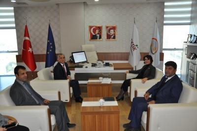 Z.Gülender Açanal,TKDK'yı Ziyaret Etti