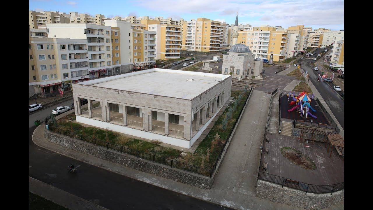 Karaköprü Belediyesi - Seyrantepe gençlik merkezine kavuşuyor